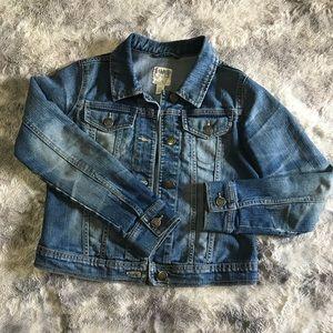 Girls Long Sleeve Denim Jacket, Lg. (10-12)